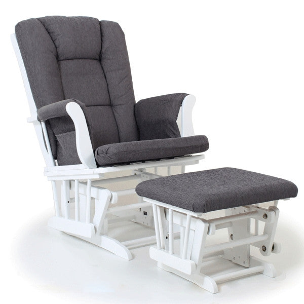 Bliss Glider Chair Antique Grey