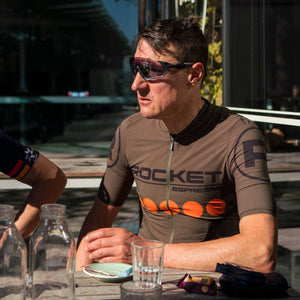 Rocket Espresso Cycling Jersey by Santini