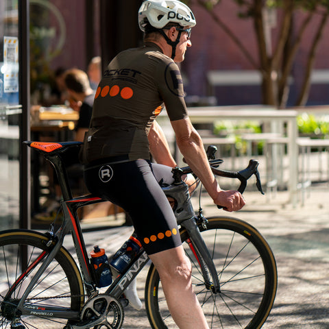 Rocket Espresso Cycling Shorts by Santini