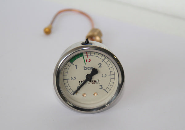 Manometer- Giotto and Cellini Plus  Boiler Gauge 0/3