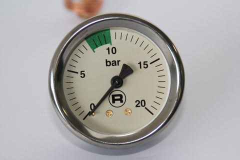 Manometer R58 Boiler Pump Pressure Gauge 0/20