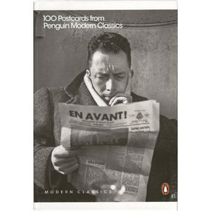 100 Writers in a Box - Postcards from Penguin Modern Classics