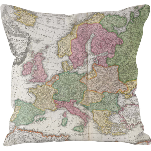 1706 Europe Eclipse Cushion