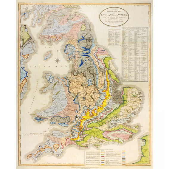 1820 Geological Map
