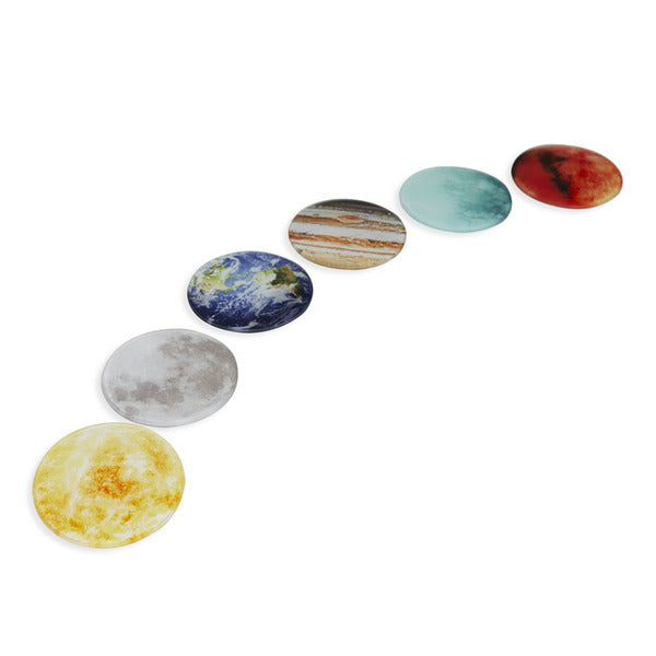 Planet Coasters - set of six