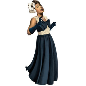 Billie Holiday Shaped Card