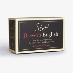 STET! Dreyer's Game of English