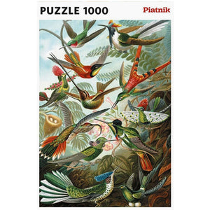 Haeckel's Hummingbirds 1000 piece Jigsaw