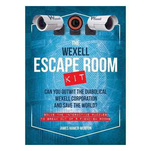 The Wexell Escape Room Kit: Solve the Puzzles to Break Out of Five Fiendish Rooms