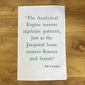 Ada Lovelace Teatowels