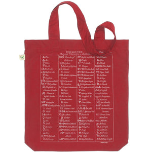 Chemical Symbols Tote Bag