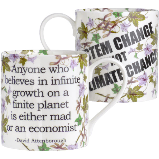 David Attenborough - System Change Mug