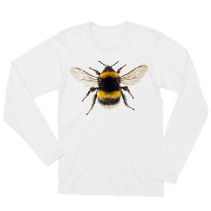 Bombus lucorum Long-sleeved Unisex T-shirt