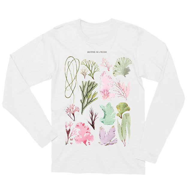 British Seaweeds Long-sleeved Unisex T-shirt