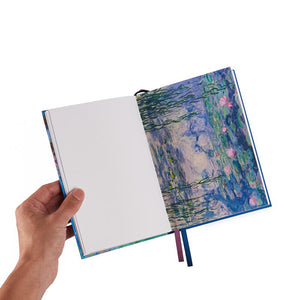 Monet Wisteria Cotton Notebook