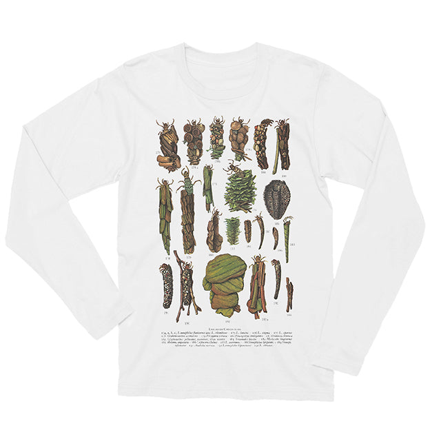 Caddis Fly Larvae Long-sleeved Unisex T-shirt