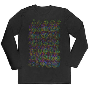 Crystal Diagrams Long-sleeved Unisex T-shirt