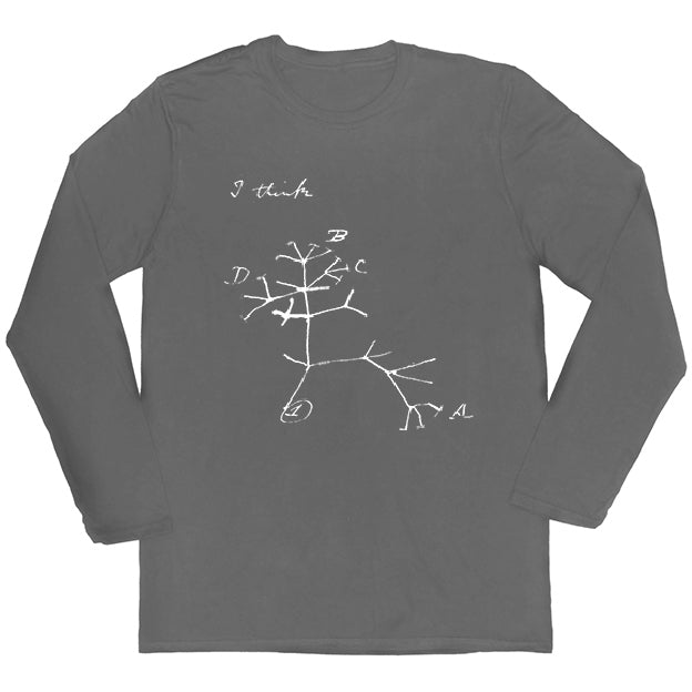 Darwin's Tree of Life Long-sleeved Unisex T-shirt