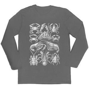 Haeckel's Decapoda Long-sleeved Unisex T-shirt