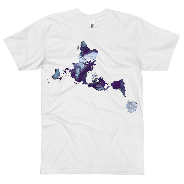 Dymaxion Ink Splash Unisex T-shirt