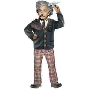 Einstein Shaped Card
