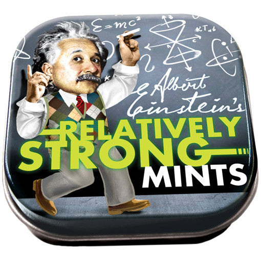 Einstein's Relatively Strong Mints