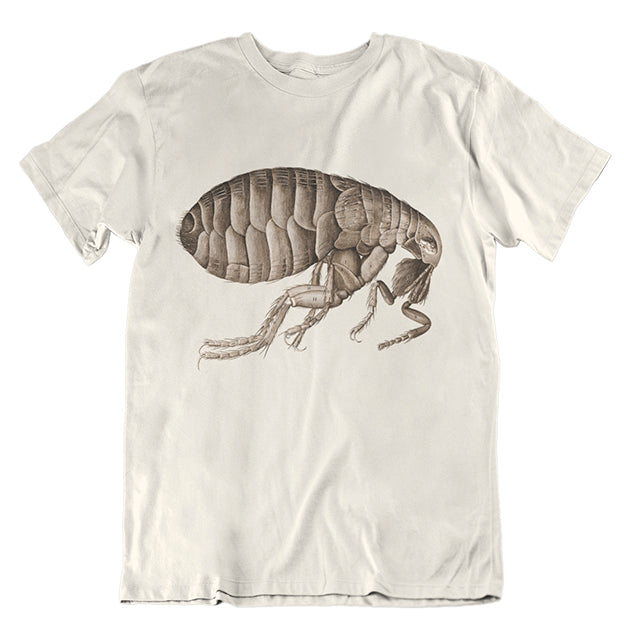 Hooke's Flea Slim-fit Unisex T-shirt