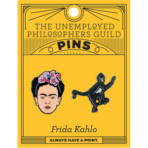 Frida Kahlo Enamel Pin Set
