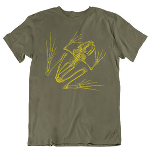 Frog Skeleton Unisex T-shirt