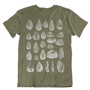 Stone Tools Unisex T-Shirt - Blue