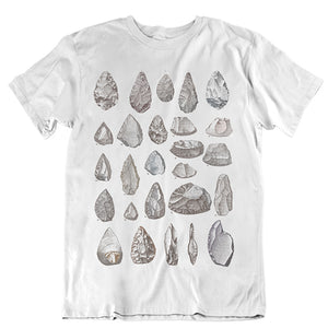 Stone Tools Unisex T-Shirt - White