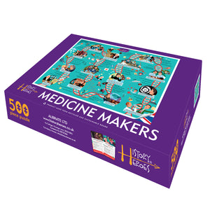 History Heroes: Medicine Makers Jigsaw - 500 pieces