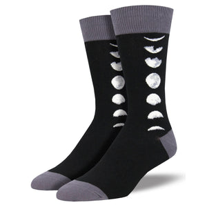 Just A Phase Moon Socks