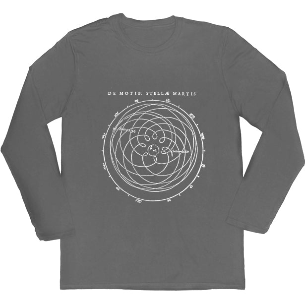 Kepler's Motions of Mars Long-sleeved Unisex T-shirt