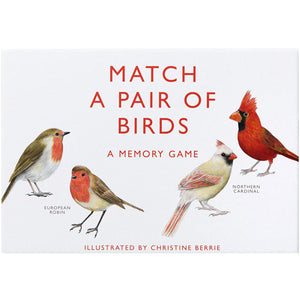 Match a Pair of Birds Card Game