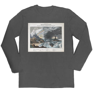 Diagram of Meteorology Long-sleeved Unisex T-shirt