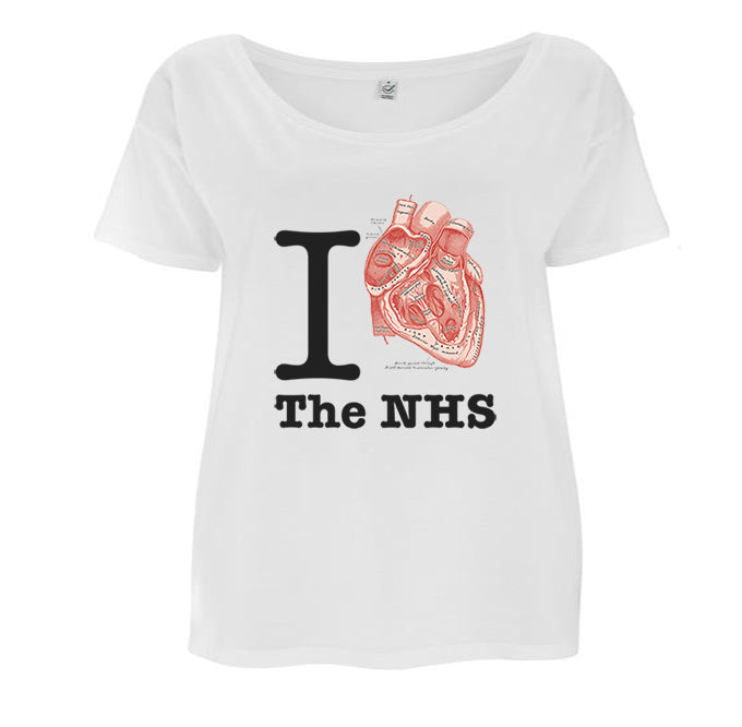 I Heart NHS Women's T-shirt - Loose-fit