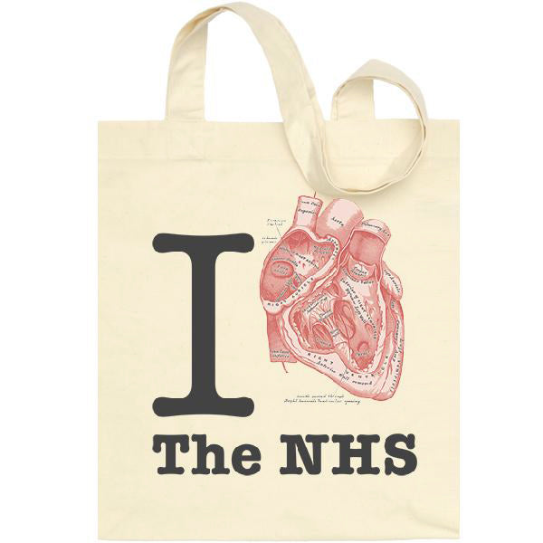 I Heart The NHS Eco Tote Bag