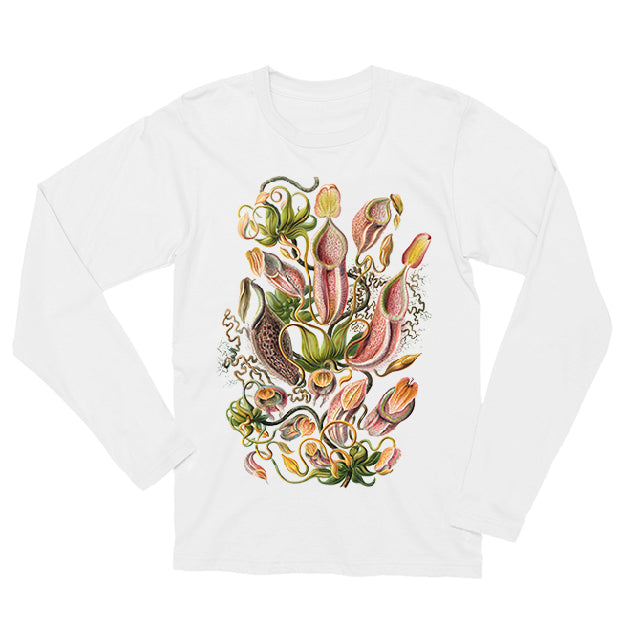 Nepenthaceae by Haeckel Long-sleeved Unisex T-shirt