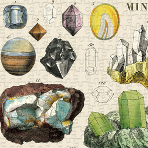 Mineralogy 1000 Piece Jigsaw Puzzle