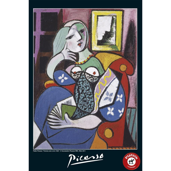 Picasso - Lady With Book 1000 Piece Jigsaw