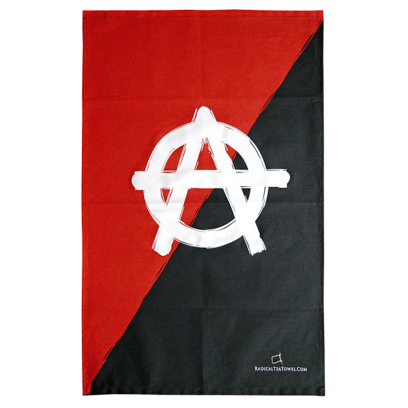 Anarchy Tea Towel