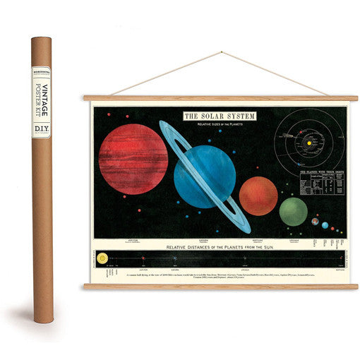 Solar System Wrapping Paper / Poster