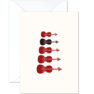 Stringed Instruments Card