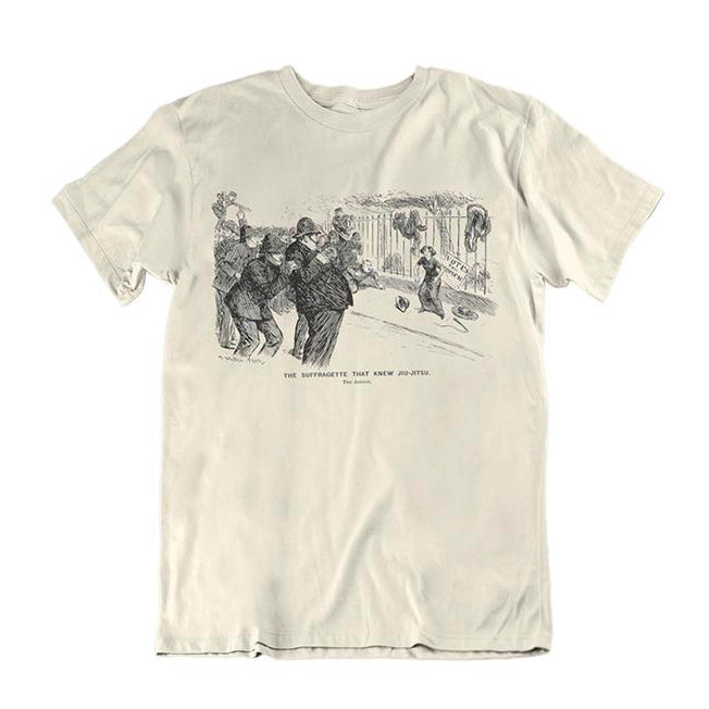 Suffragette Who Knew Jiu-jitsu Children's T-Shirt