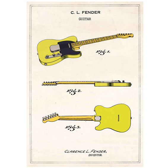 Fender Telecaster Card