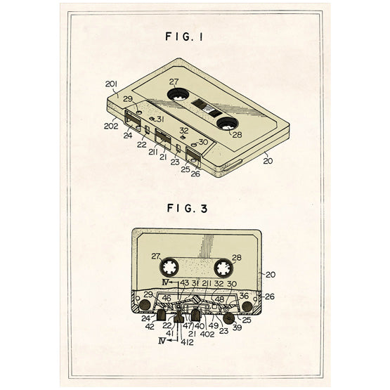 Compact Cassette Card