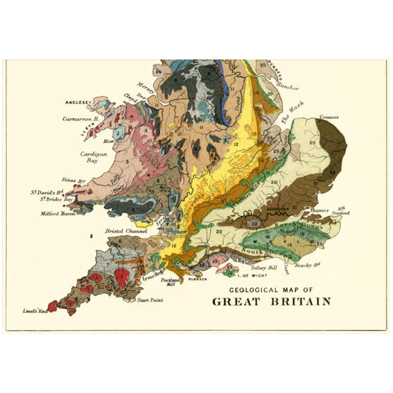 Geology Of Britain Card