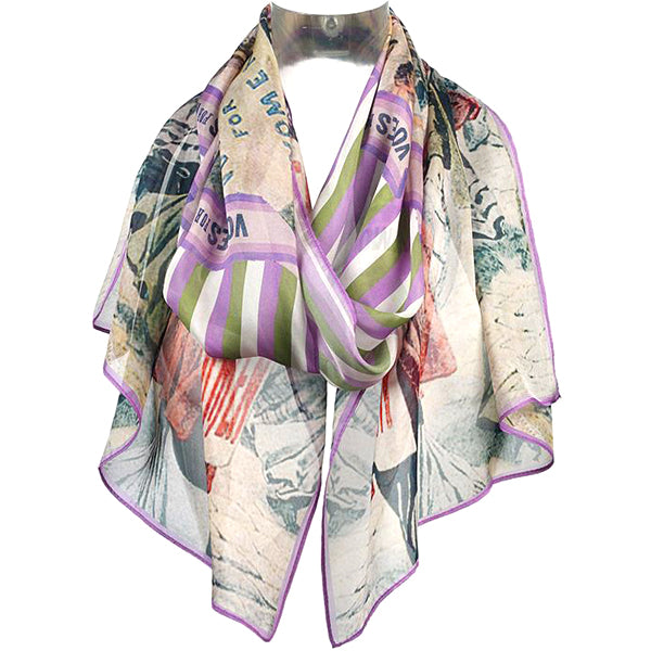 Votes For Women Chiffon Scarf