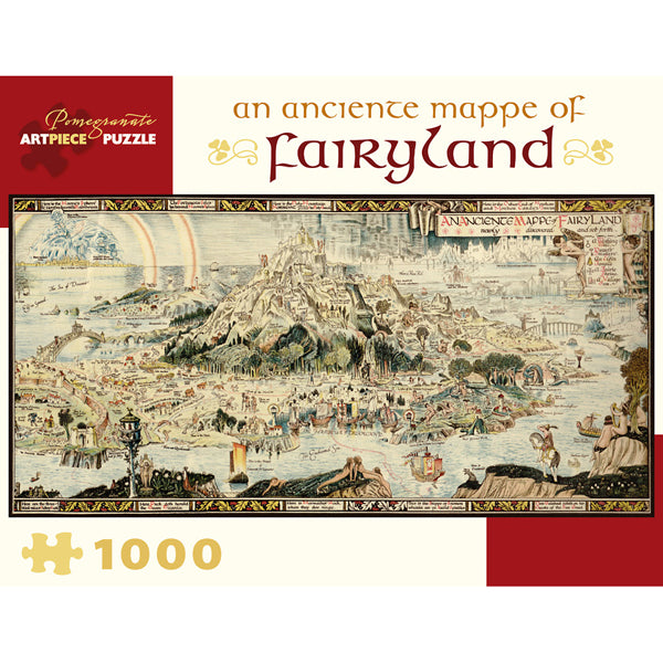An Anciente Mappe of Fairyland 1000 Piece Puzzle